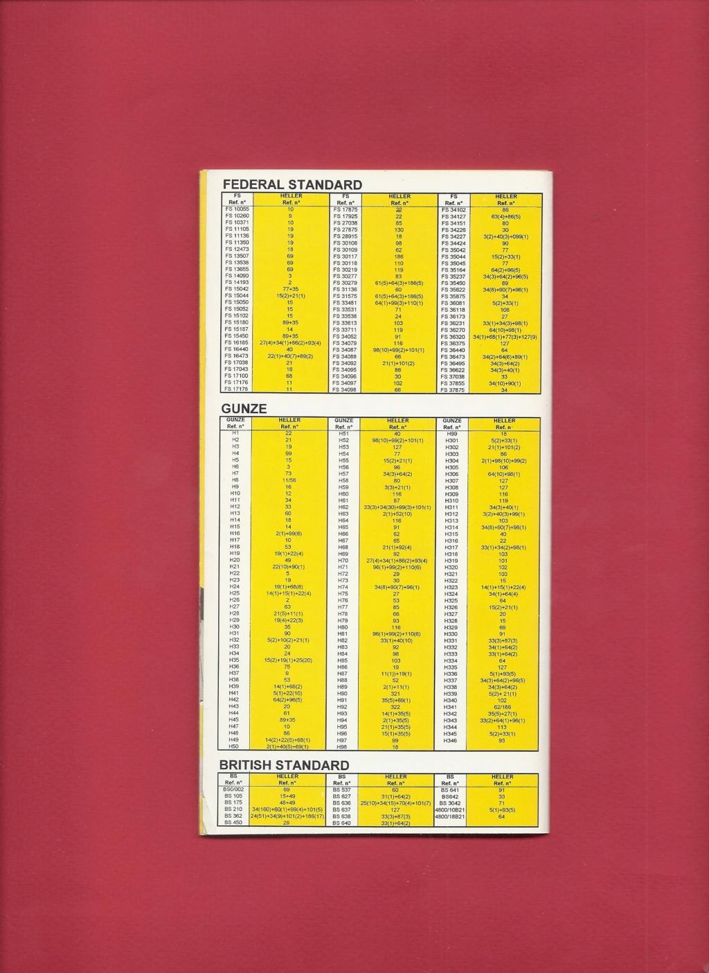[1998] Dépliant gamme peintures acryliques 1998  Hell3143