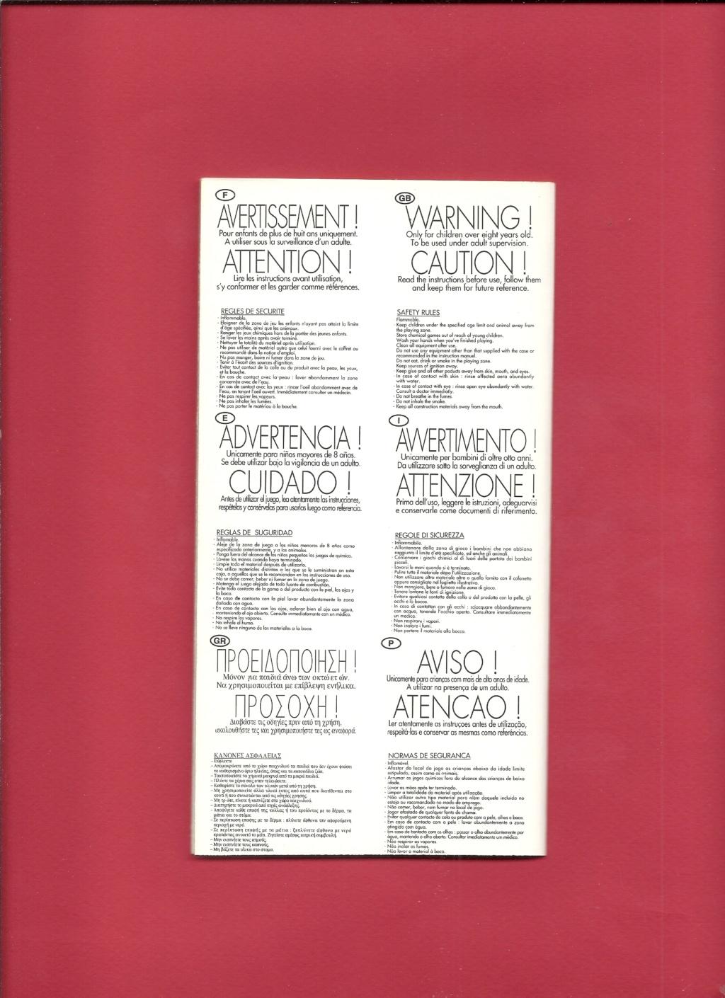 [1998] Dépliant gamme peintures acryliques 1998  Hell3147