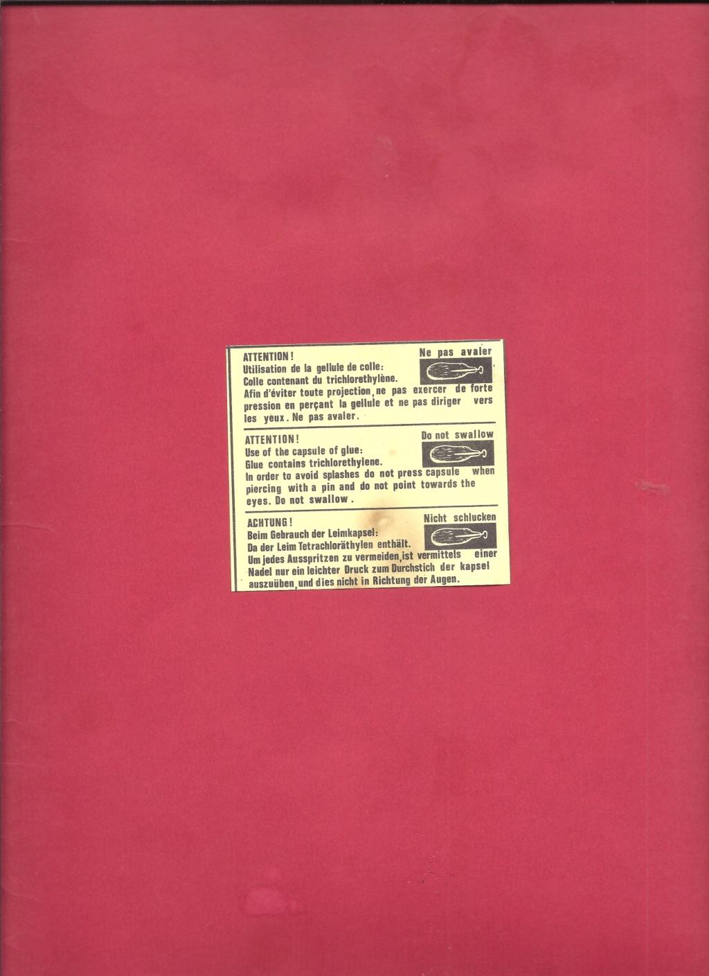 FIESELER Fi 156 C3 STORCH 1/72ème Réf 072 Notice Helle456