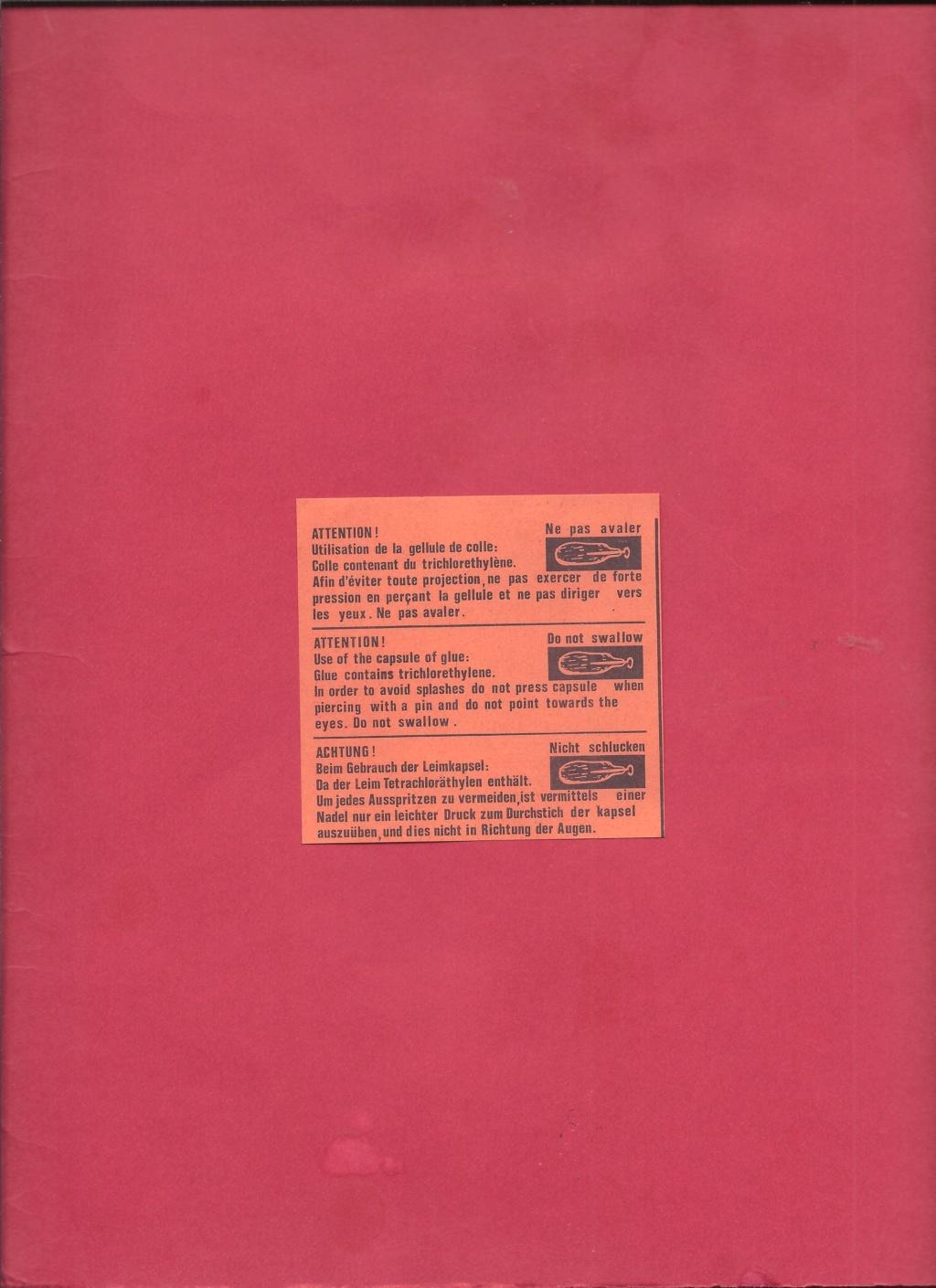 BELL P 39 Q AIRACOBRA 1/72ème Réf 154 Notice Helle462