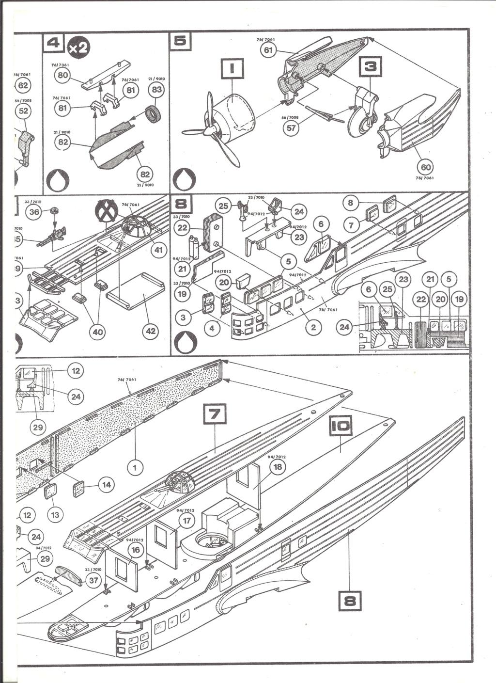 BLOCH MB 210 1/72ème Ref 80397 Notice Helle514
