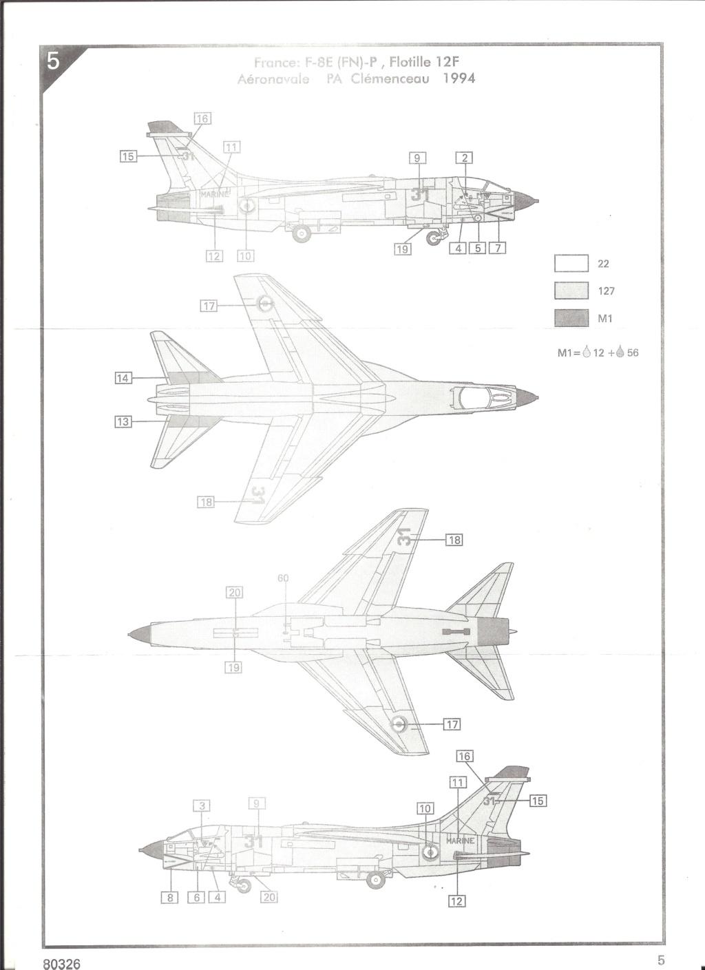 CRUSADER - LING TEMCO VOUGHT F-8P  CRUSADER 1/72ème Réf 80326 Helle537