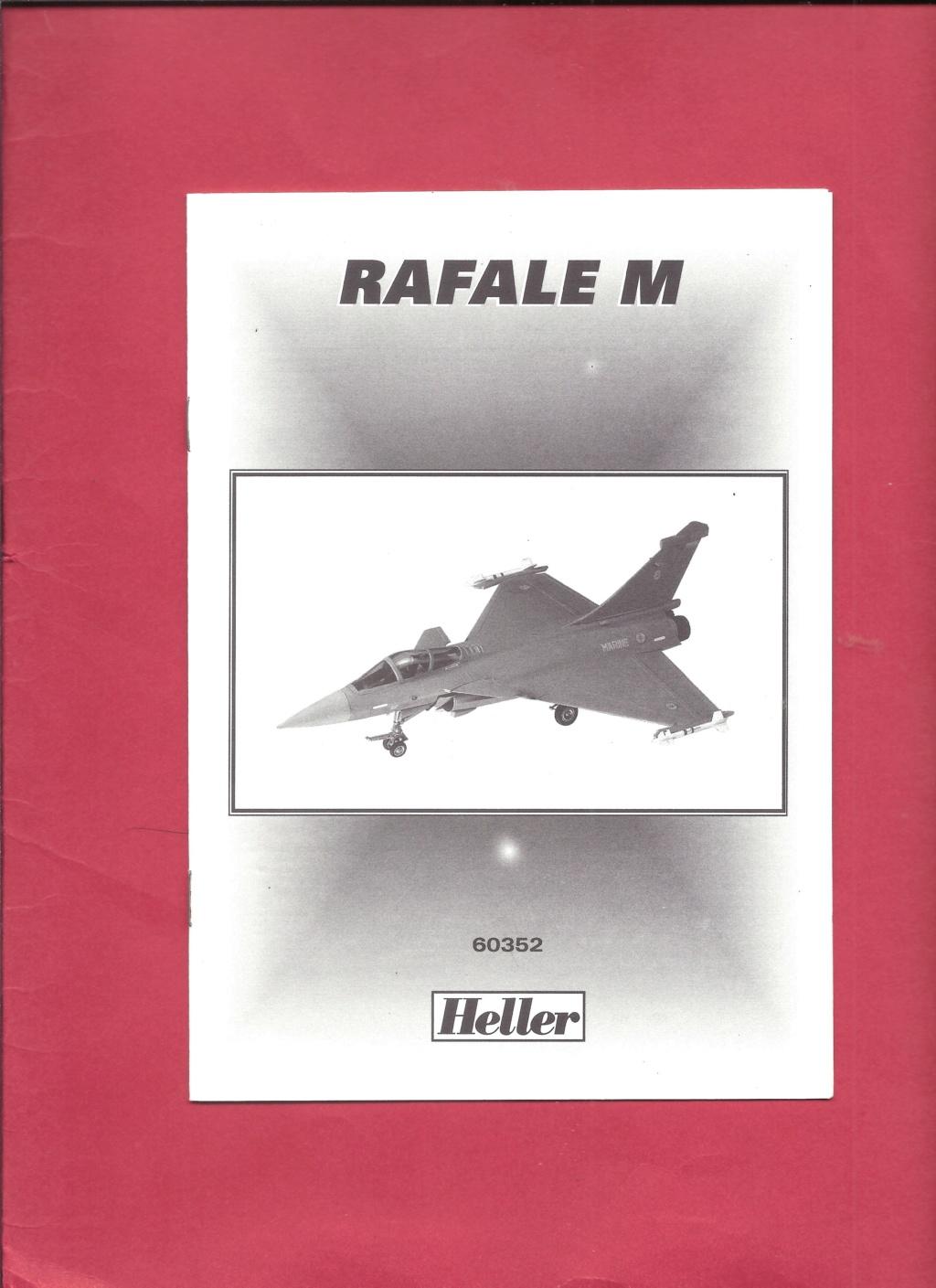 DASSAULT RAFALE M 1/72ème Réf 71251 Notice Helle539