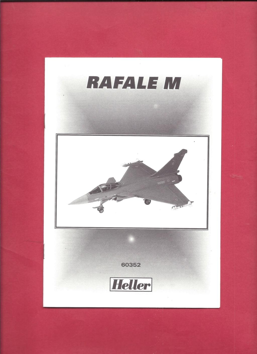 DASSAULT RAFALE 1/72ème Réf 60352 Notice Helle546