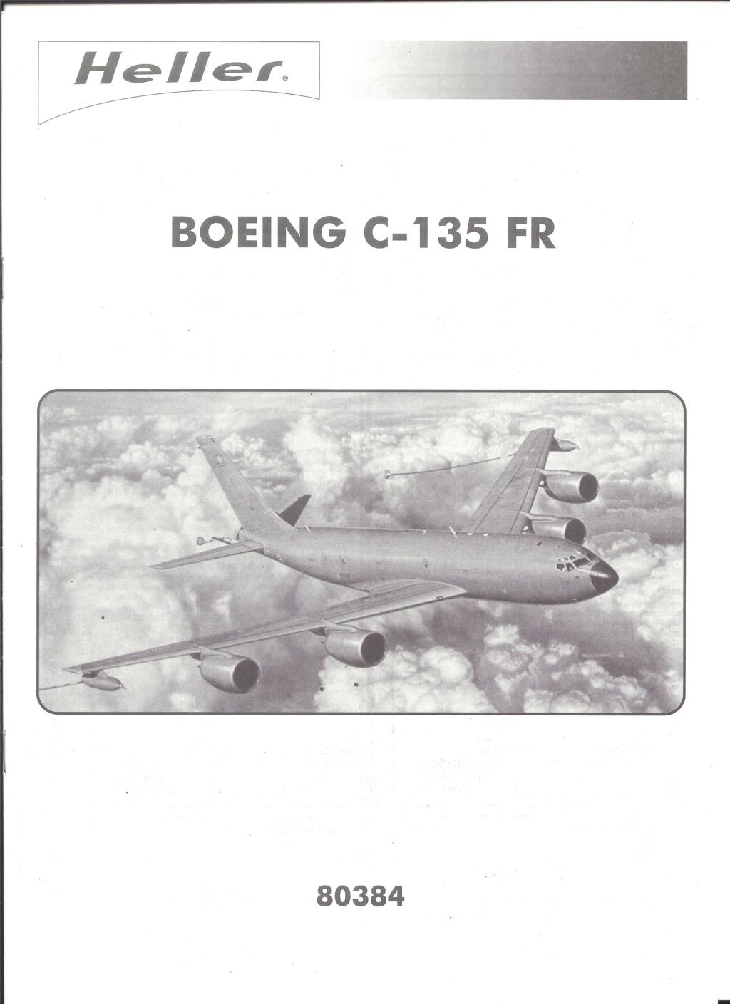 BOEING C 135 FR 1/72ème Ref 80384 Notice Helle581