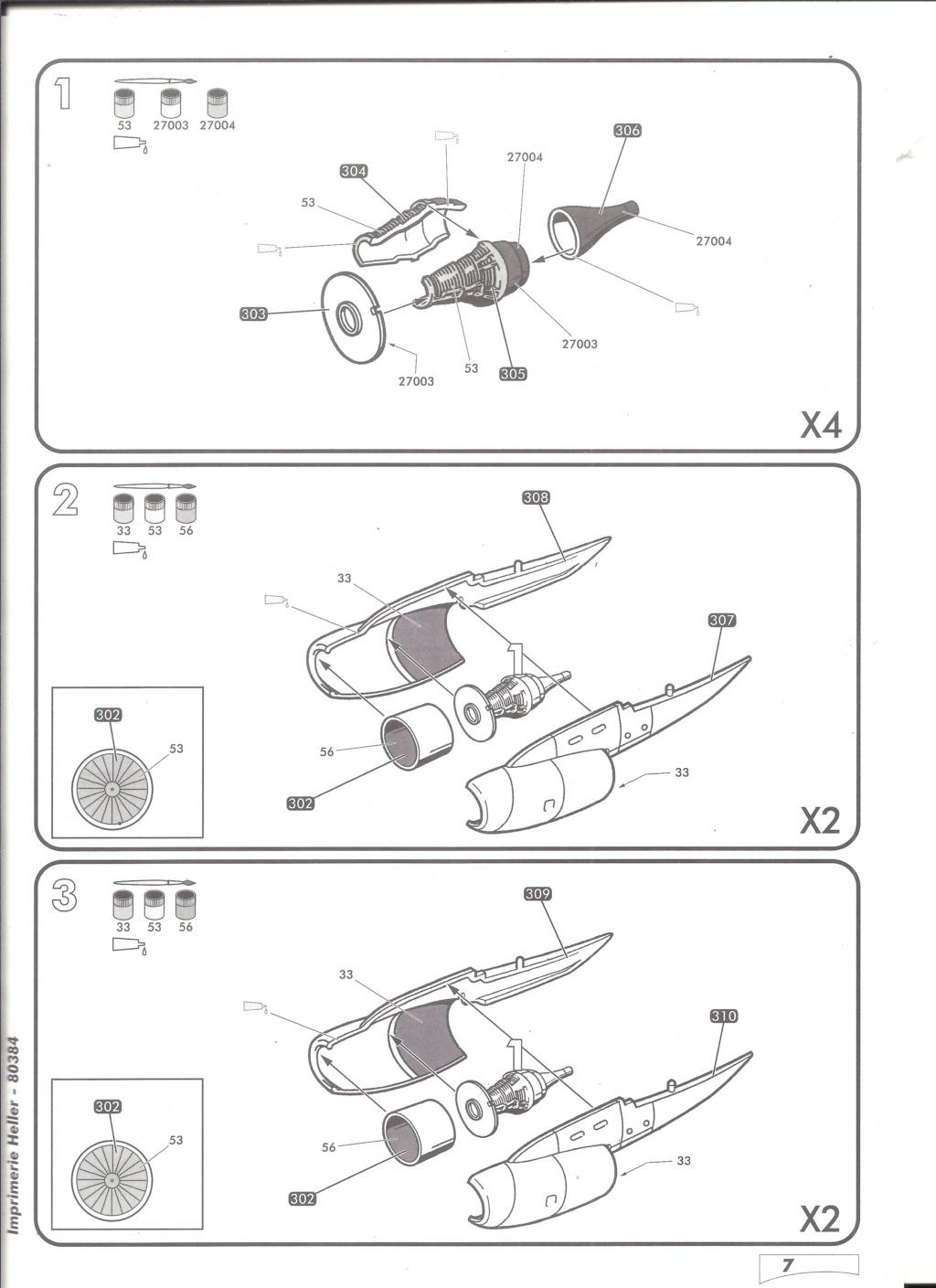 BOEING C 135 FR 1/72ème Ref 80384 Notice Helle587