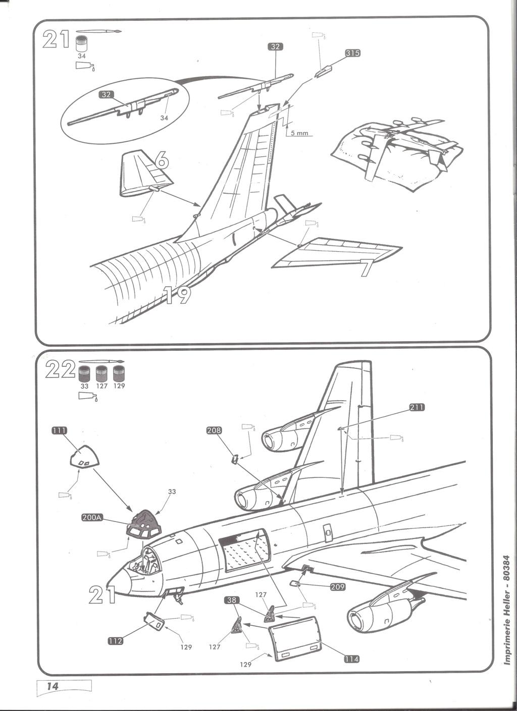 BOEING C 135 FR 1/72ème Ref 80384 Notice Helle595