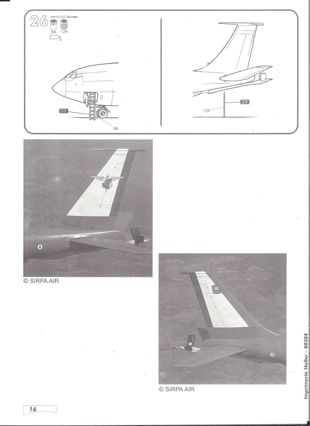 BOEING C 135 FR 1/72ème Ref 80384 Notice Helle601