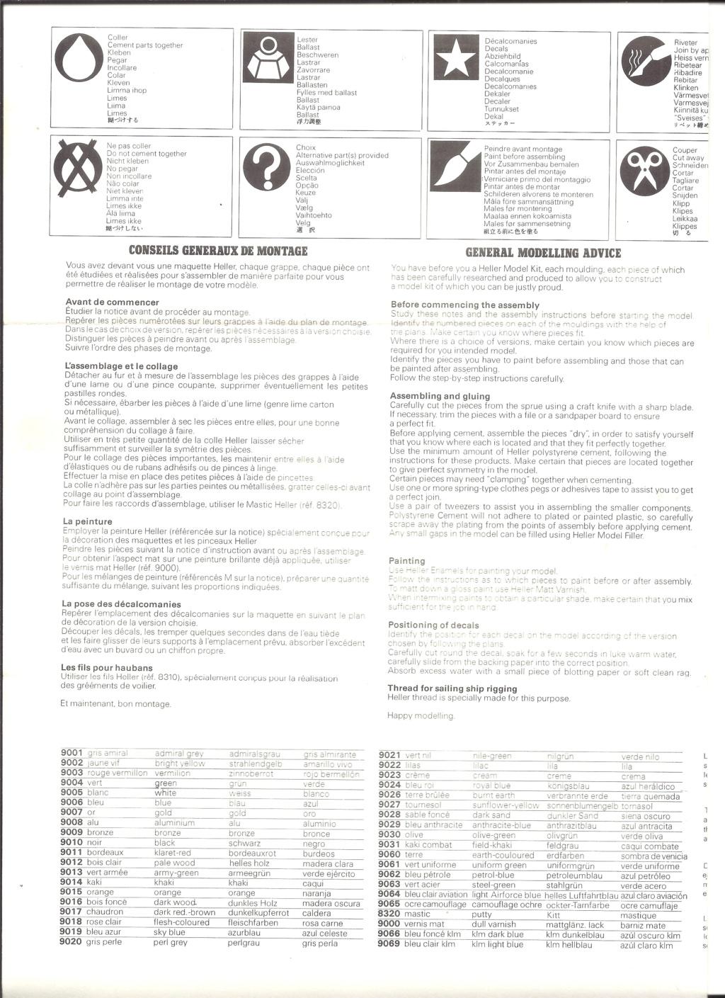 DASSAULT-BREGUET DORNIER ALPHA JET 1/72ème Ref 257 Notice Helle653