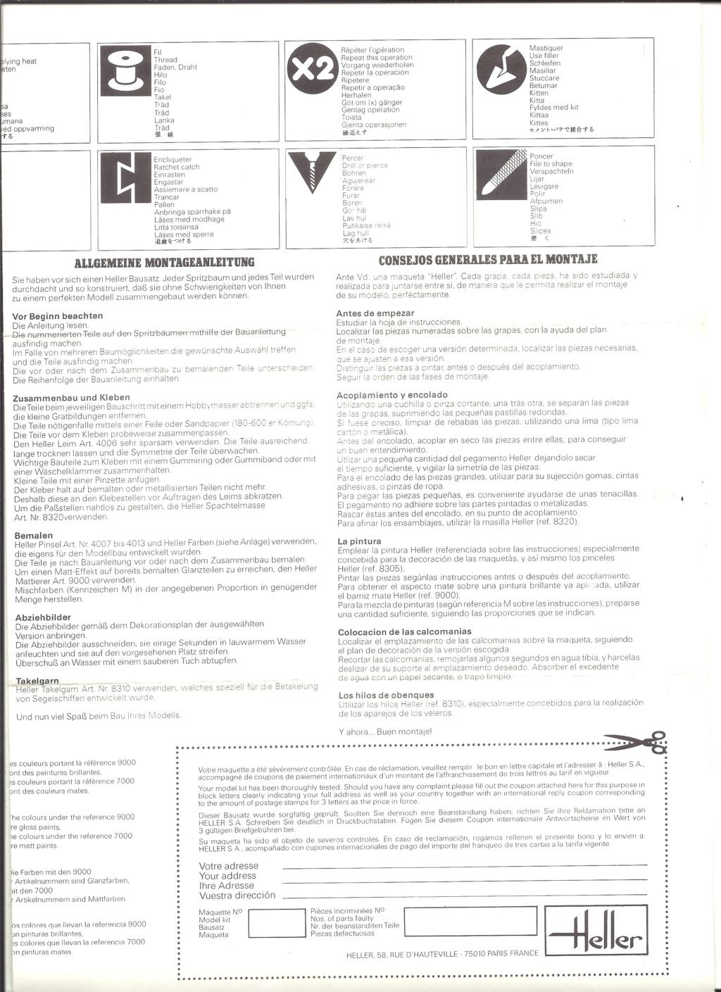 DASSAULT-BREGUET DORNIER ALPHA JET 1/72ème Ref 257 Notice Helle654