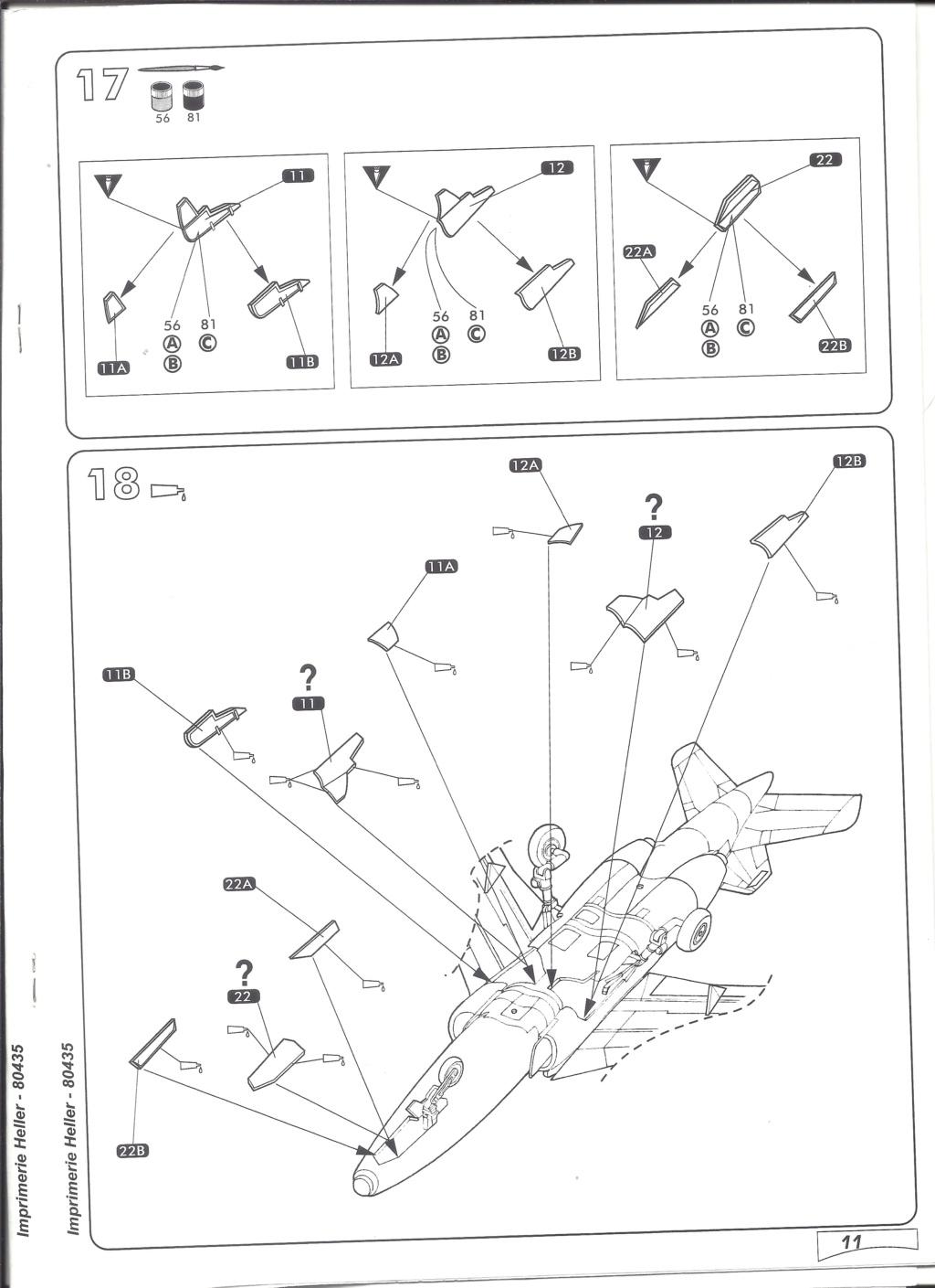 DASSAULT-BREGUET DORNIER ALPHA JET 1/48ème Réf 80435 Notice Helle666