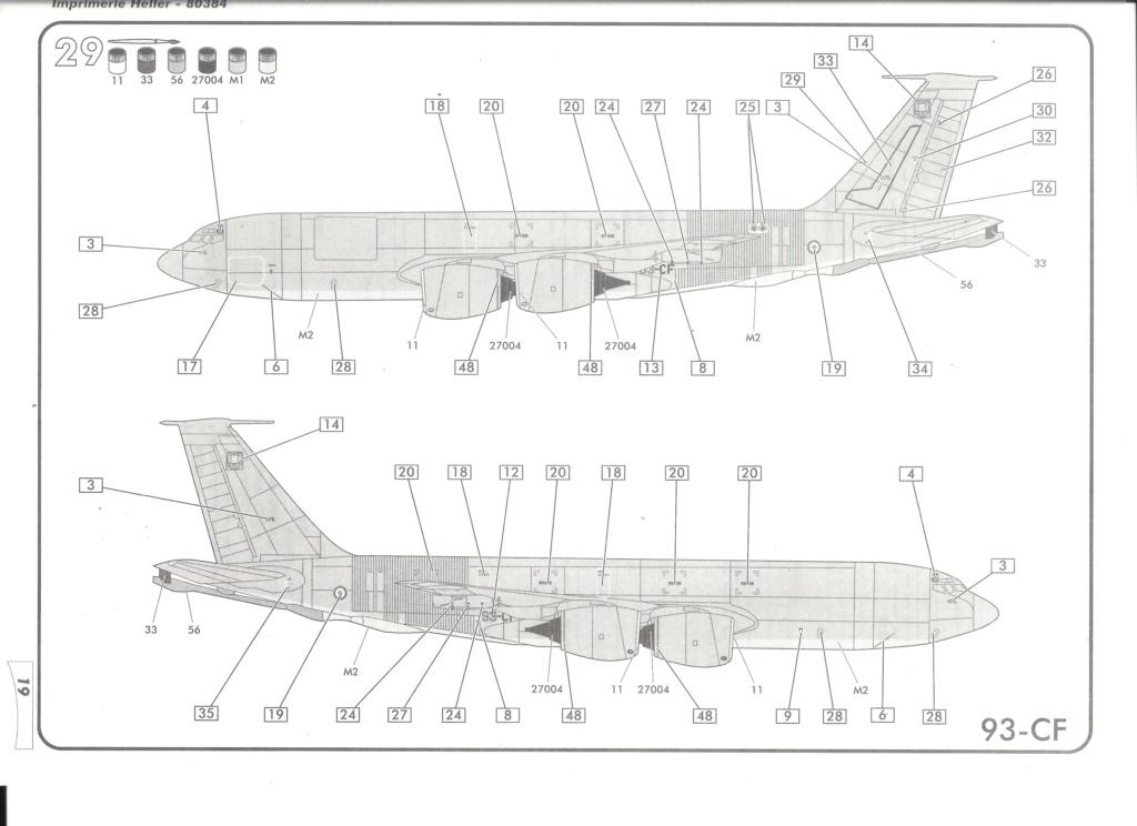BOEING C 135 FR 1/72ème Ref 80384 Notice Helle678
