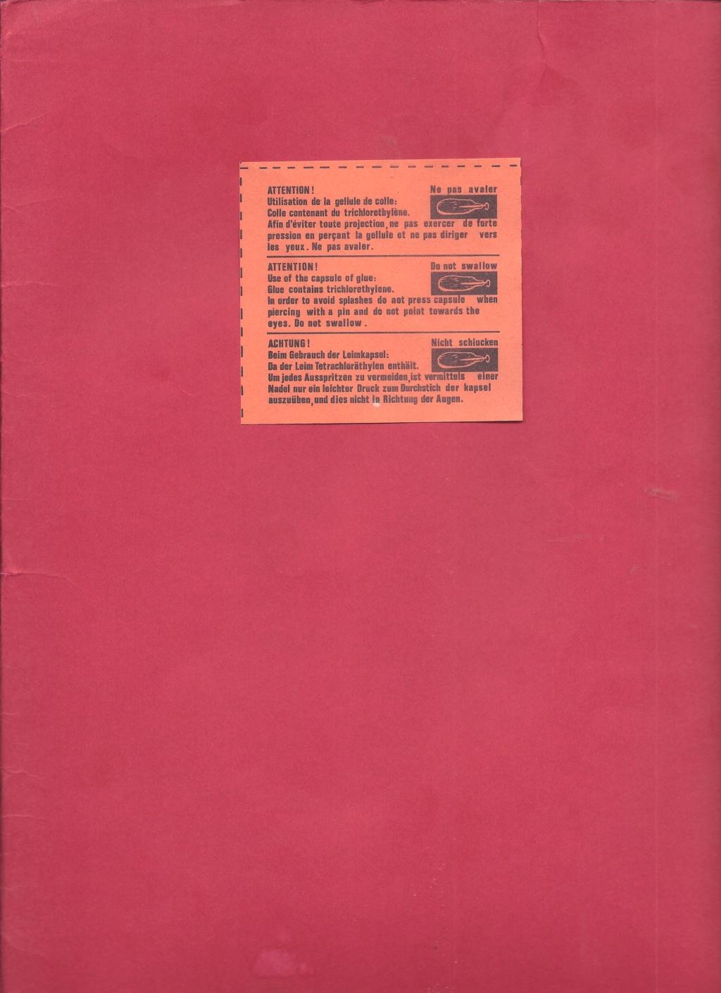 SEPECAT JAGUAR M 1/50ème Réf 522 Notice Helle827
