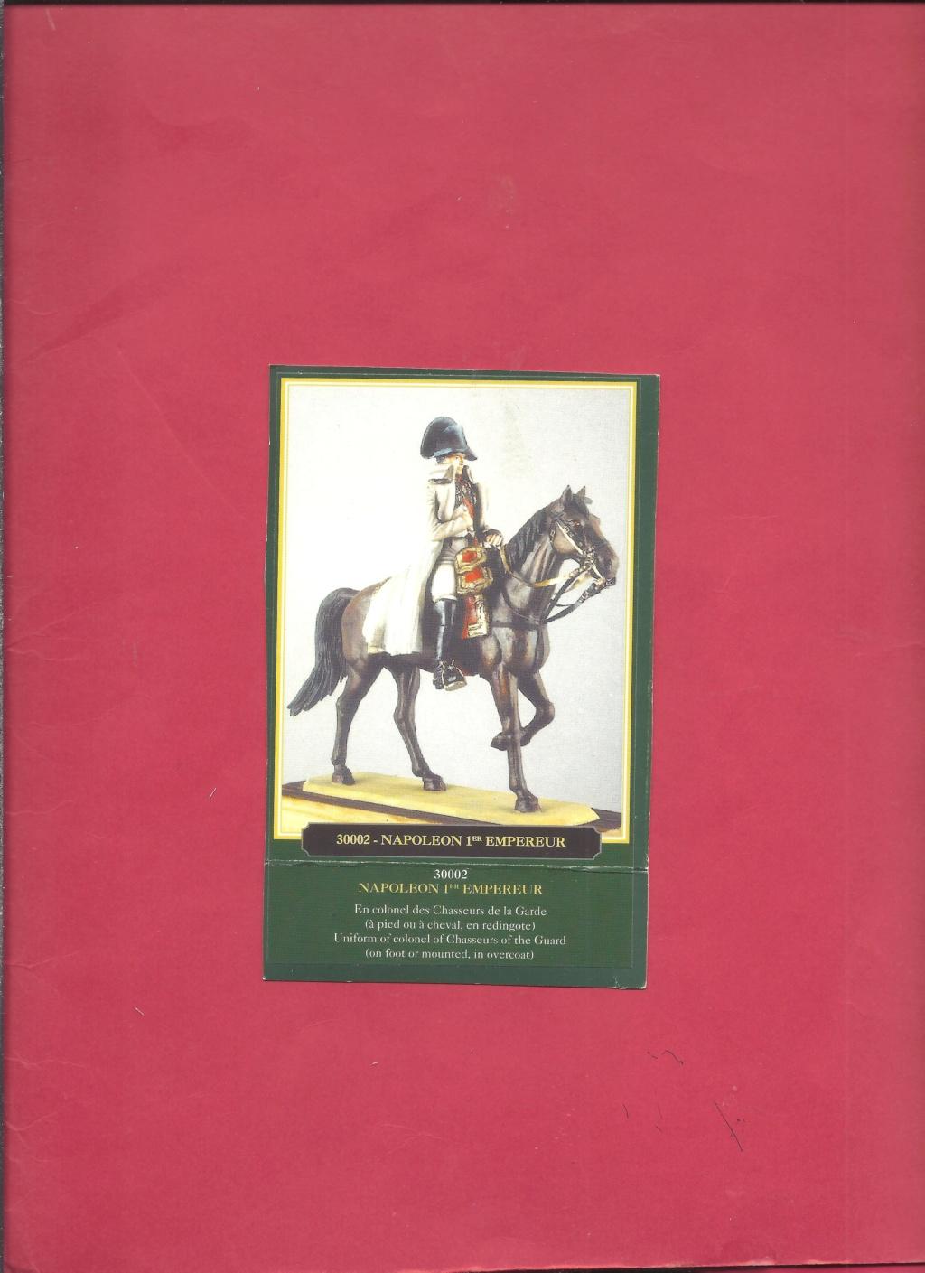 [HISTOREX] NAPOLEON 1er Empereur des français en habit de colonel des Chasseurs de la Garde Impériale 1/30ème Réf 30002 Notice Histo115