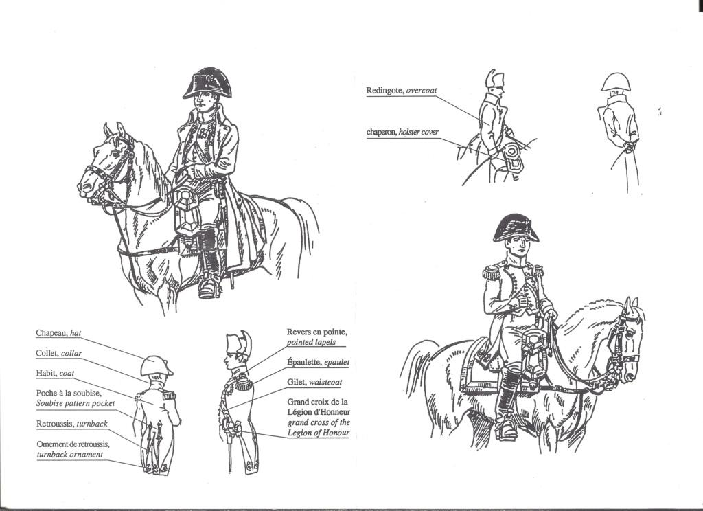 [HISTOREX] NAPOLEON 1er Empereur des français en habit de colonel des Chasseurs de la Garde Impériale 1/30ème Réf 30002 Notice Histo116