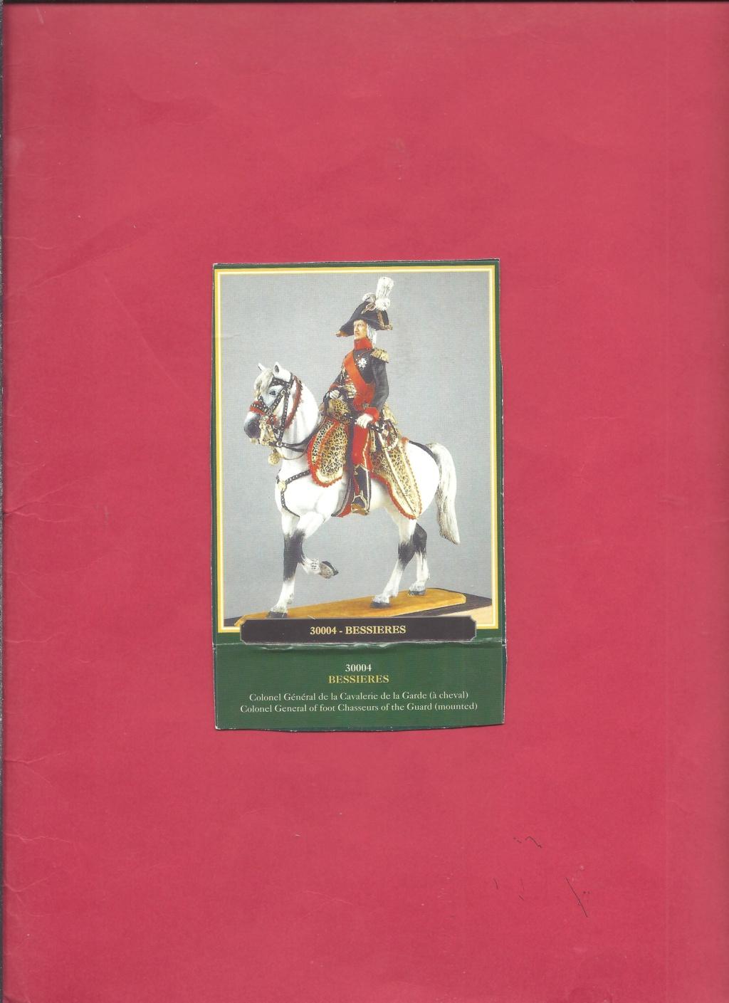 [HISTOREX] Maréchal  BESSIERES Colonel Général de la cavalerie de la Garde Impériale 1/30ème Réf 30004 Notice Histo119