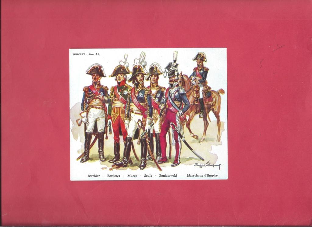 [HISTOREX] Maréchal  BESSIERES Colonel Général de la cavalerie de la Garde Impériale 1/30ème Réf 30004 Notice Histo122