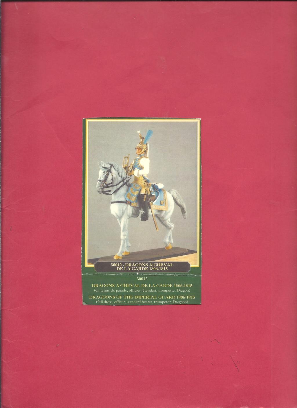 [HISTOREX] Régiment Dragon à cheval de la Garde Impériale 1806 - 1815 1/30ème Réf 30012 Notice Histo123