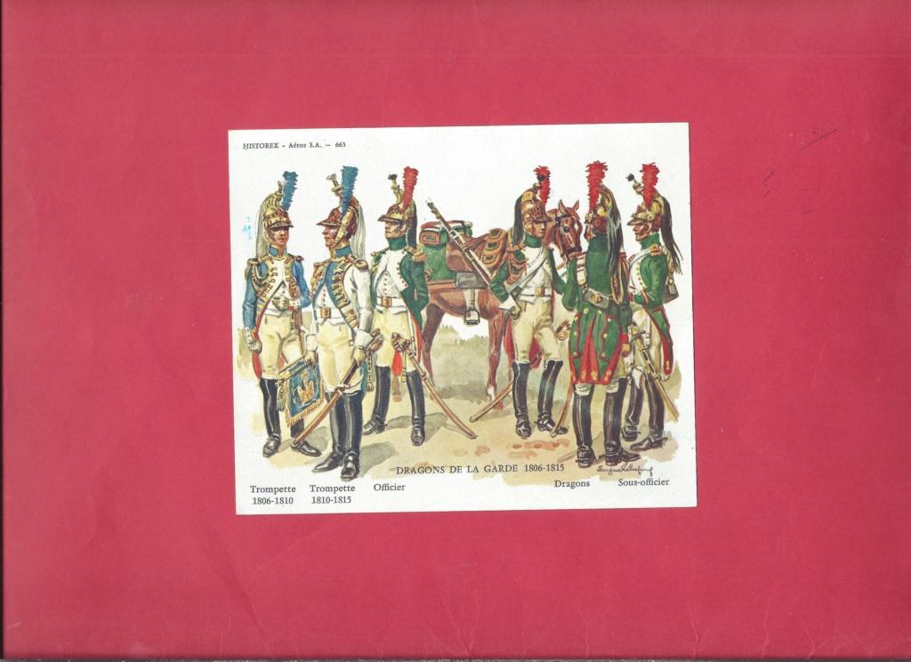 [HISTOREX] Régiment Dragon à cheval de la Garde Impériale 1806 - 1815 1/30ème Réf 30012 Notice Histo128