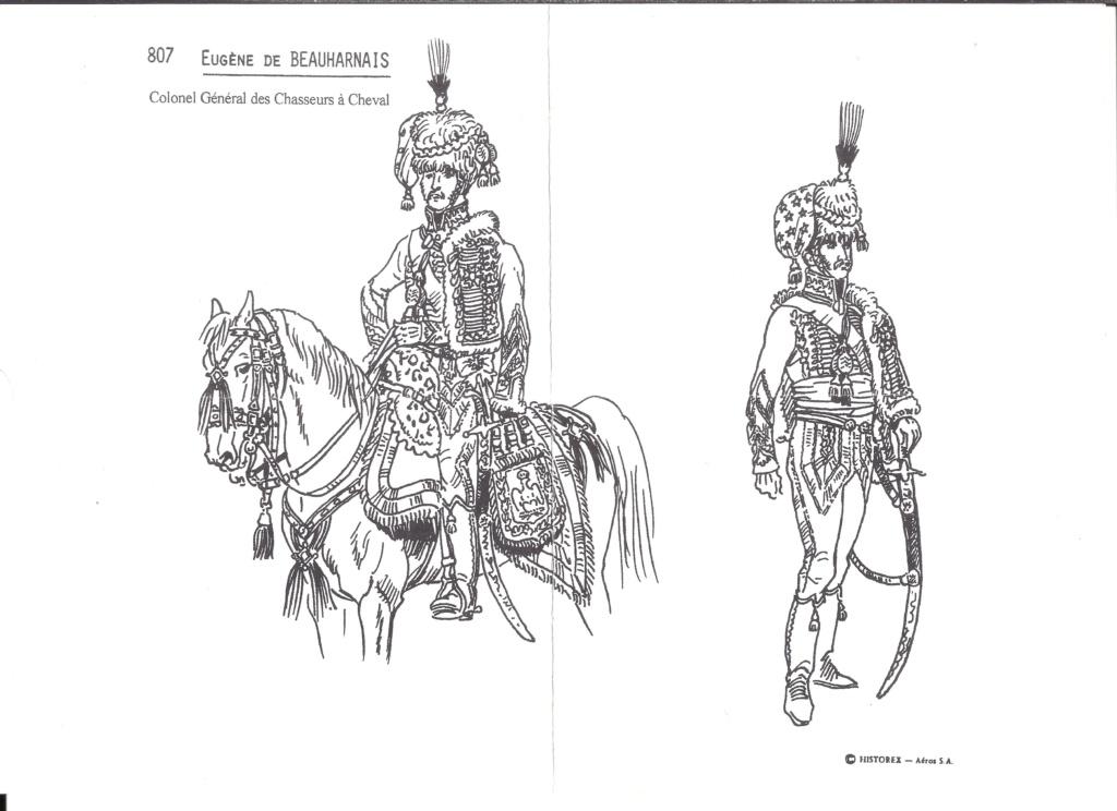 [HISTOREX] Eugène Rose de BEAUHARNAIS Vice Roi d ITALIE et Colonel Général des Chasseurs à cheval de la Garde Impériale 1/30ème Réf 807 Notice Histo144