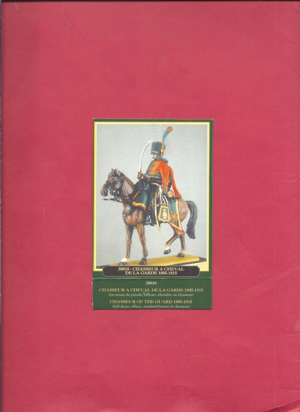 [HISTOREX] Chasseur à cheval de la Garde Impérial 1804 - 1815 1/30ème Réf 30010 Notice Histo151