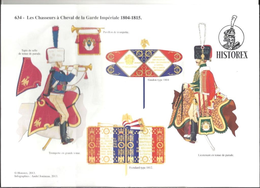 [HISTOREX] Chasseur à cheval de la Garde Impérial 1804 - 1815 1/30ème Réf 30010 Notice Histo157
