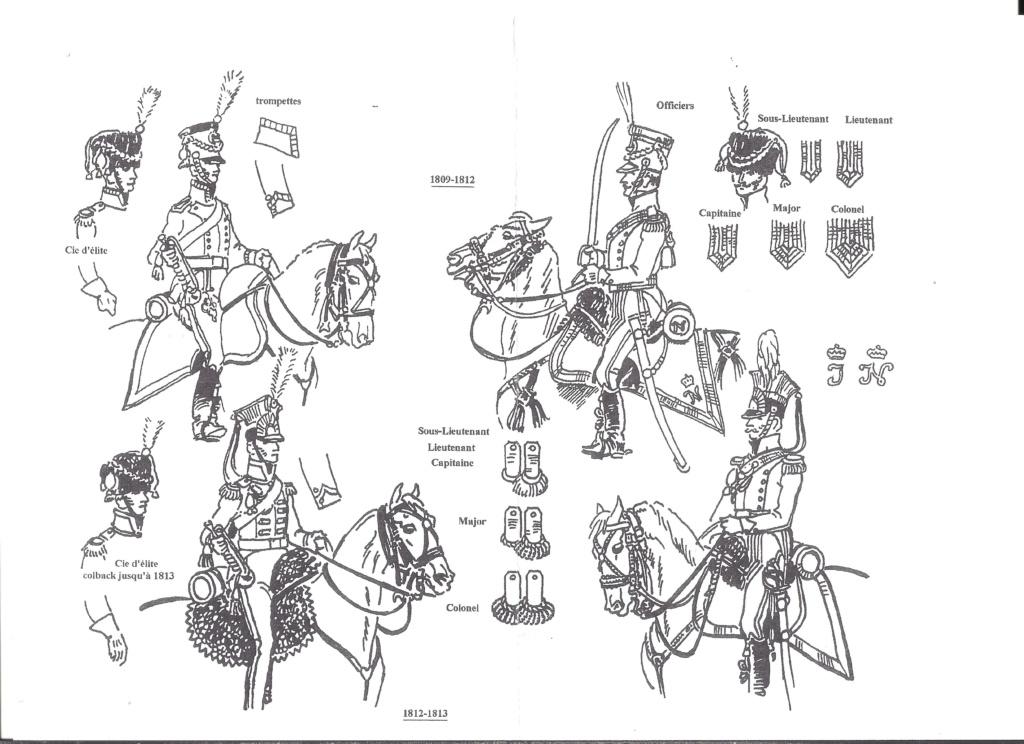 [HISTOREX] Régiment Chevaux-léger Lancier du Grand-Duché de BERG de la Garde Impériale 1809 - 1813 1/30ème Réf 742 Notice Histo178