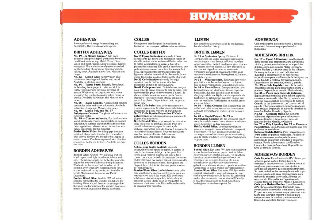 [HUMBROL 1979] Catalogue 1979 Humbro36