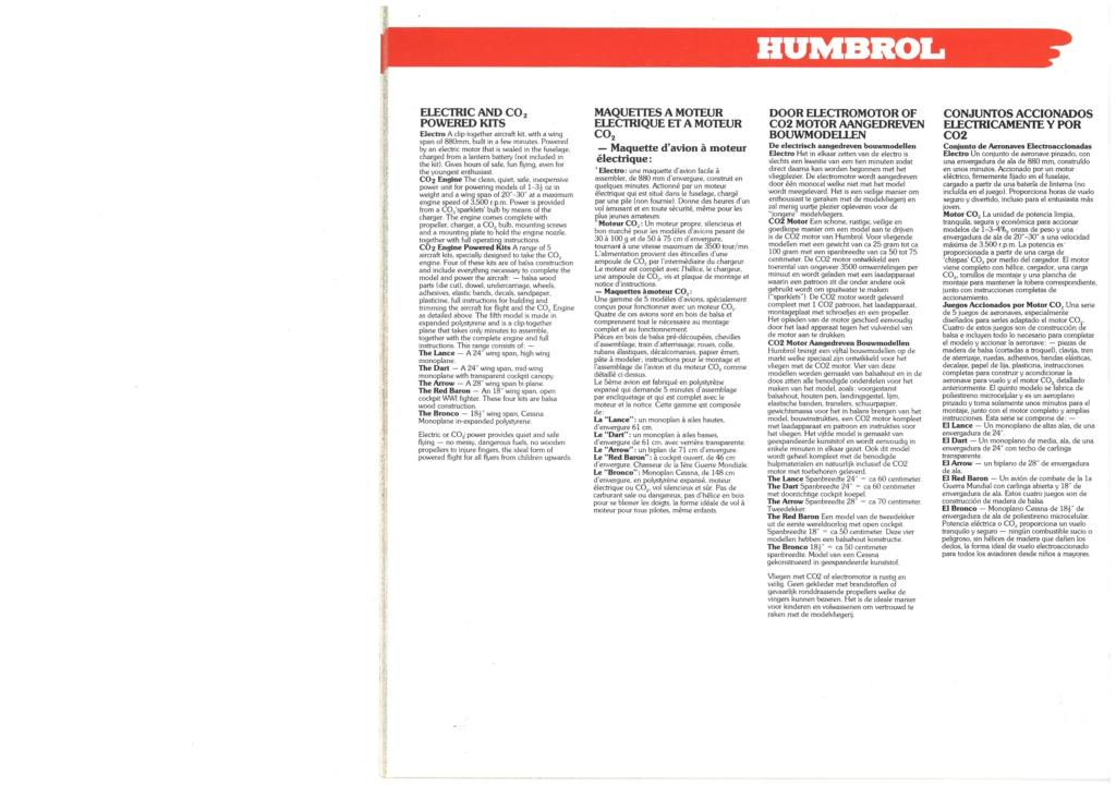 [HUMBROL 1979] Catalogue 1979 Humbro48