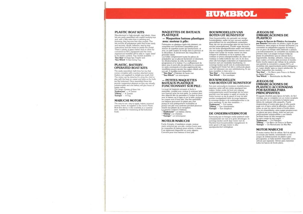 [HUMBROL 1979] Catalogue 1979 Humbro51