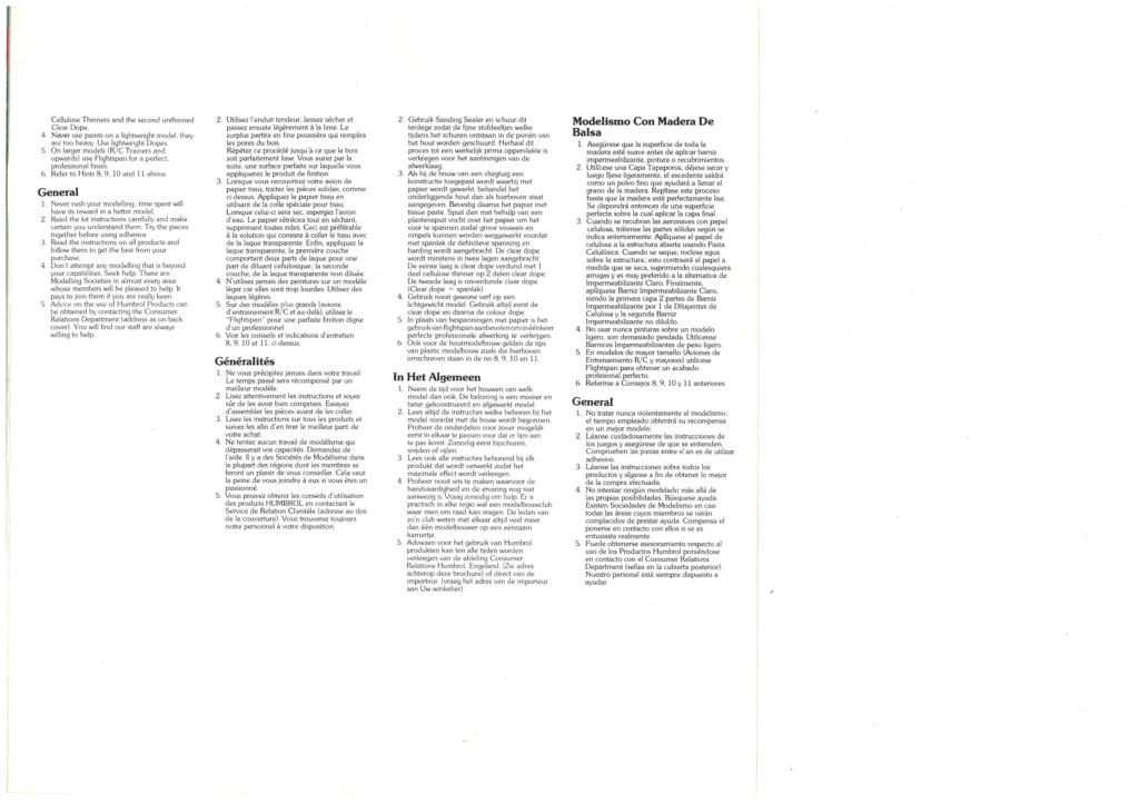 [HUMBROL 1979] Catalogue 1979 Humbro54