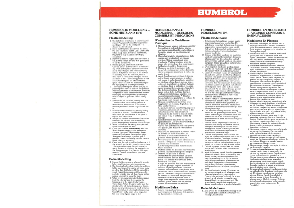 [HUMBROL 1979] Catalogue 1979 Humbro56