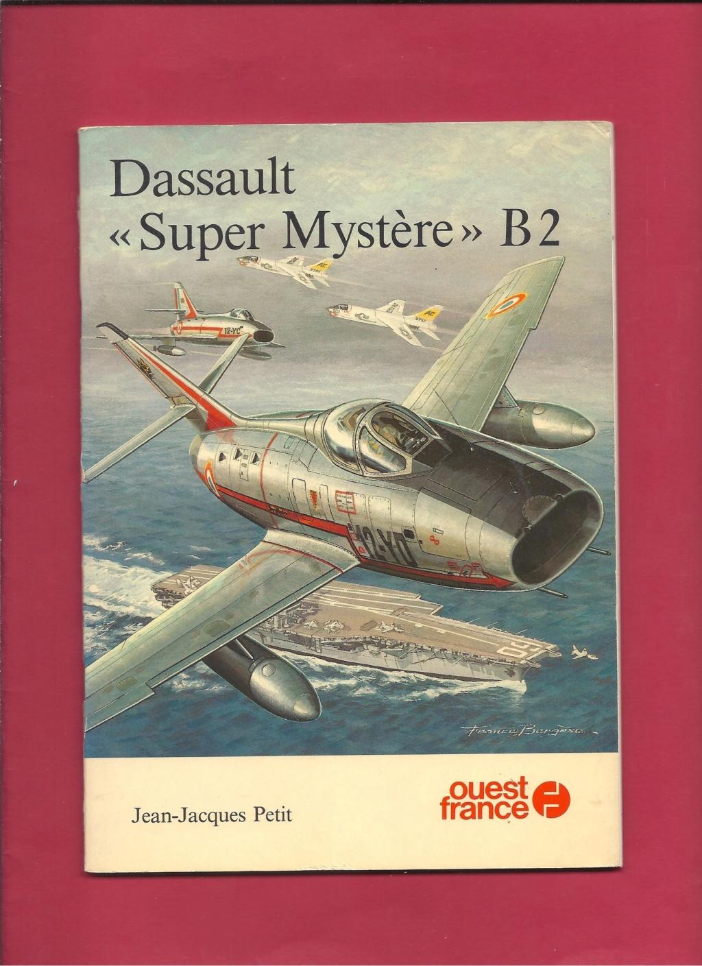 Comparatif DASSAULT SUPER MYSTERE B2 AIRFIX & AZUR FRROM au 72ème  Livre_30
