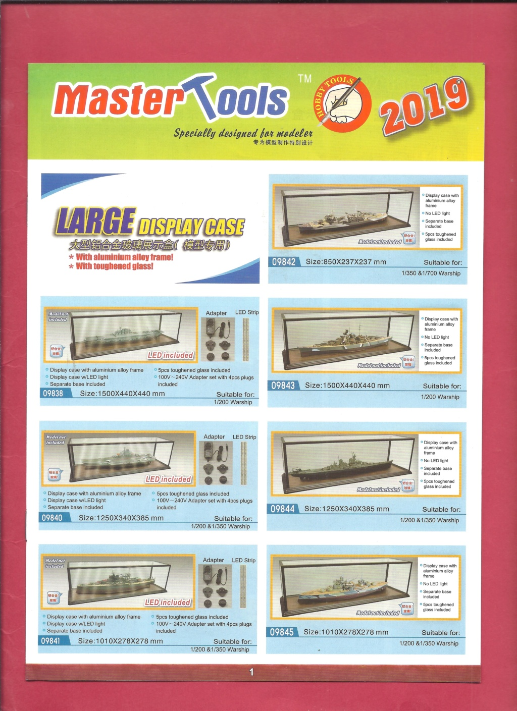[MASTER TOOLS 2019] Catalogue 2019  Master10