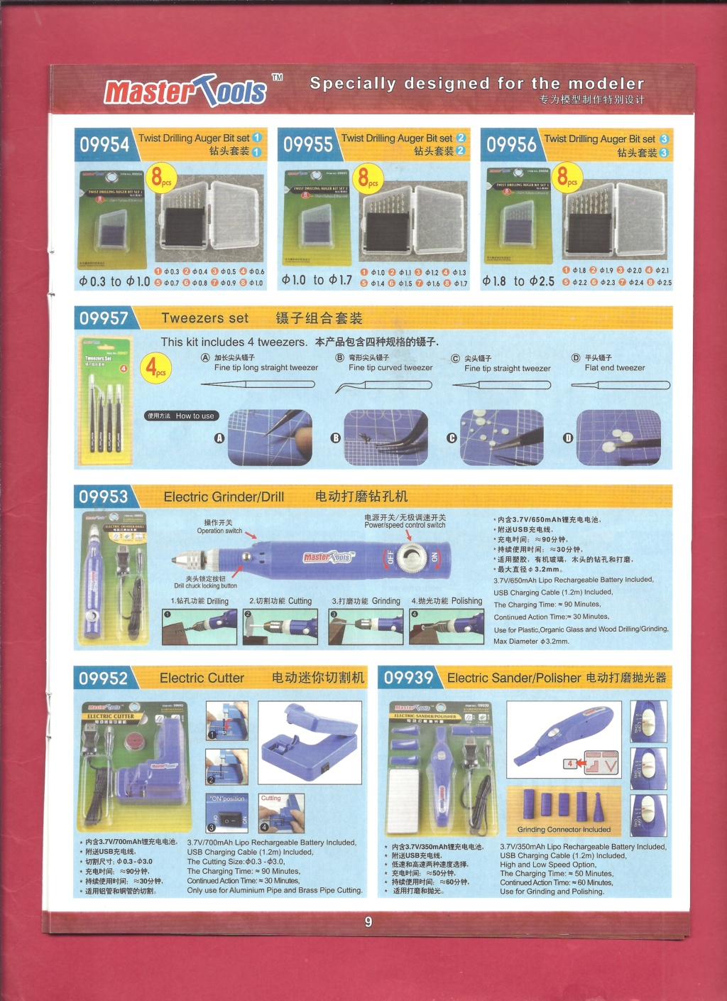 [MASTER TOOLS 2019] Catalogue 2019  Master18