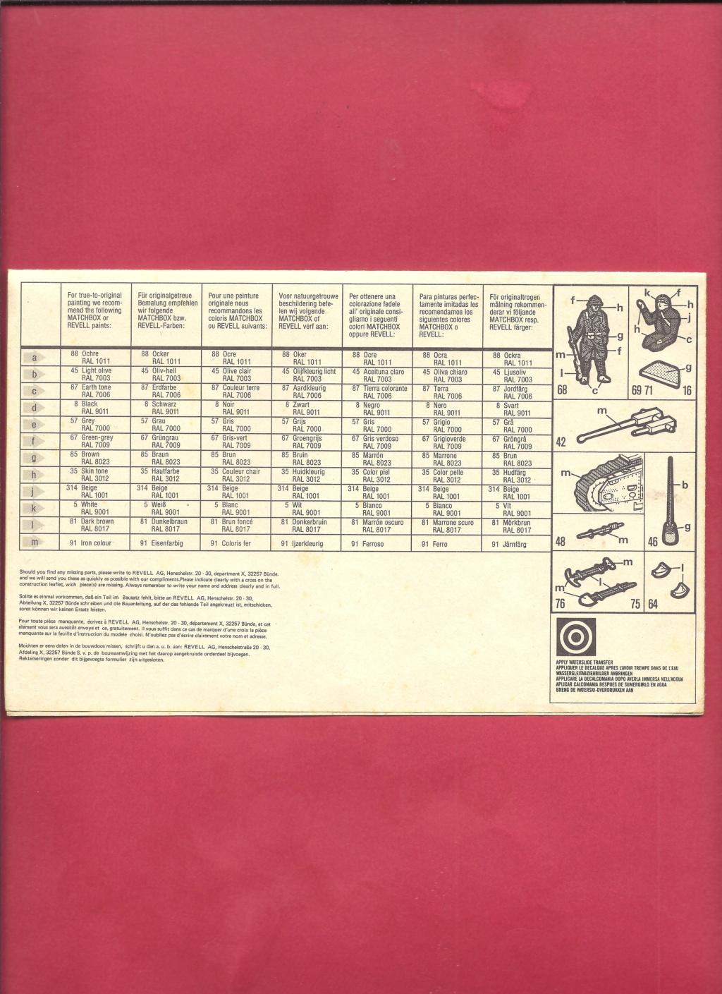 [MATCHBOX] Char B.1 bis et RENAULT FT 17 1/76ème Réf 40176 Notice Matchb28