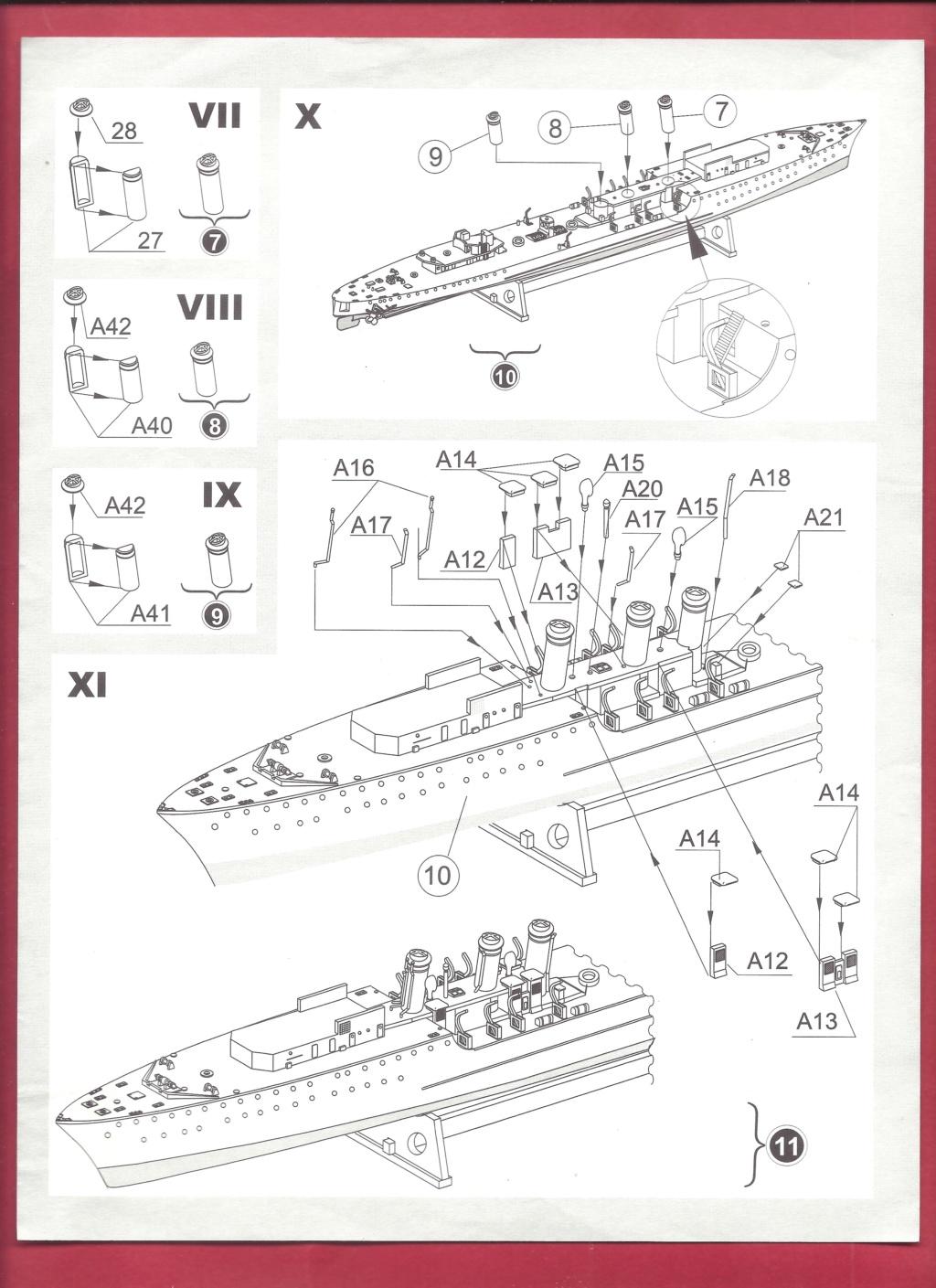 [MIRAGE] Torpilleur d escadre de 1 500t classe ADROIT ORP WICHER 1/400ème Réf 40068    Mirage13