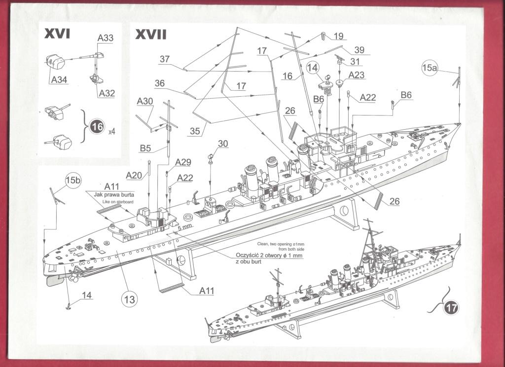 [MIRAGE] Torpilleur d escadre de 1 500t classe ADROIT ORP WICHER 1/400ème Réf 40068    Mirage14