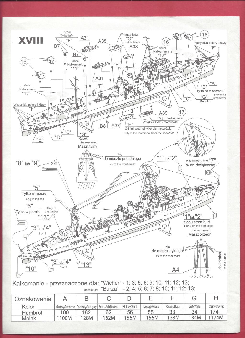 [MIRAGE] Torpilleur d escadre de 1 500t classe ADROIT ORP WICHER 1/400ème Réf 40068    Mirage15