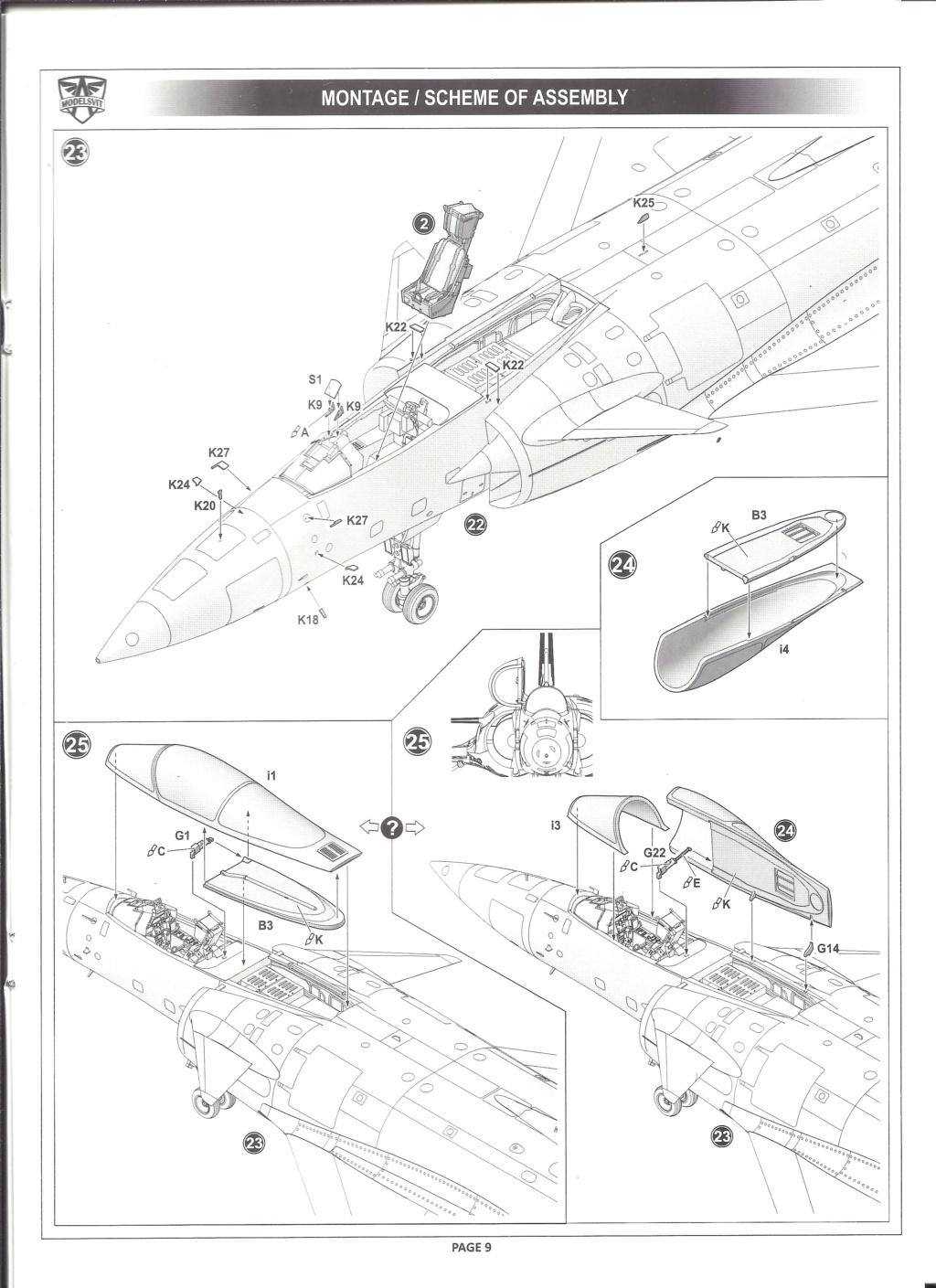 [MODELSVIT] DASSAULT MIRAGE 4000 1/72ème Réf 72052 Notice Models20
