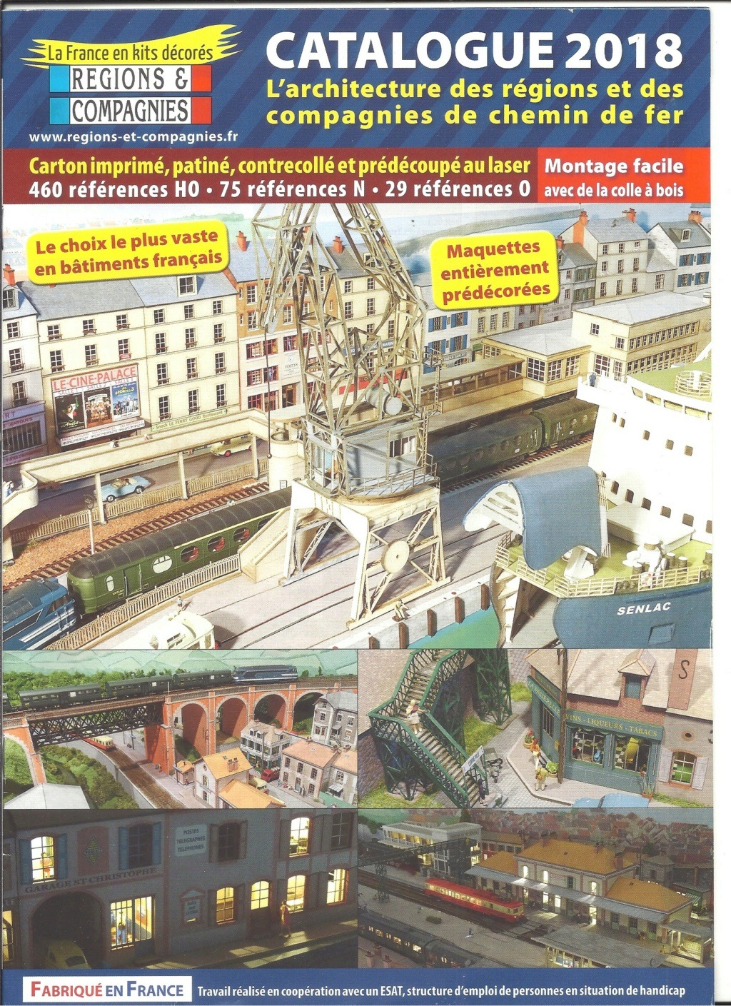 [REGIONS ET COMPAGNIES 2018] Catalogue 2018  Region21