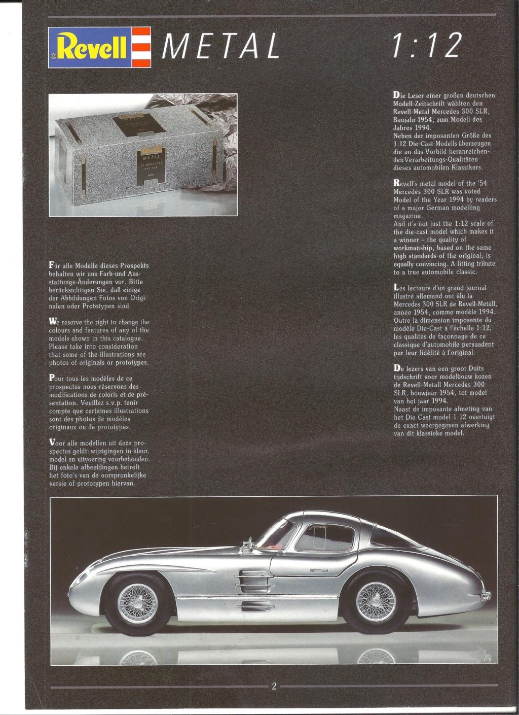[REVELL 1995] Catalogue METAL miniatures 1995  Revell31