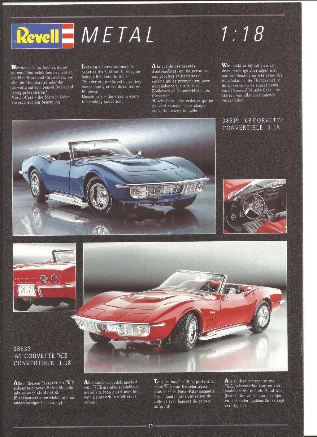[REVELL 1995] Catalogue METAL miniatures 1995  Revell45