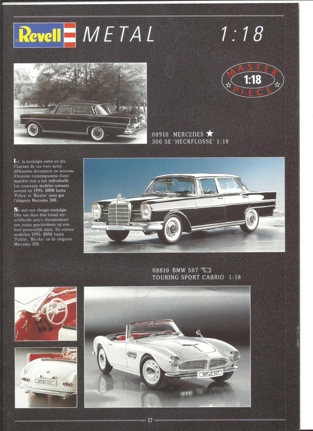 [REVELL 1995] Catalogue METAL miniatures 1995  Revell47
