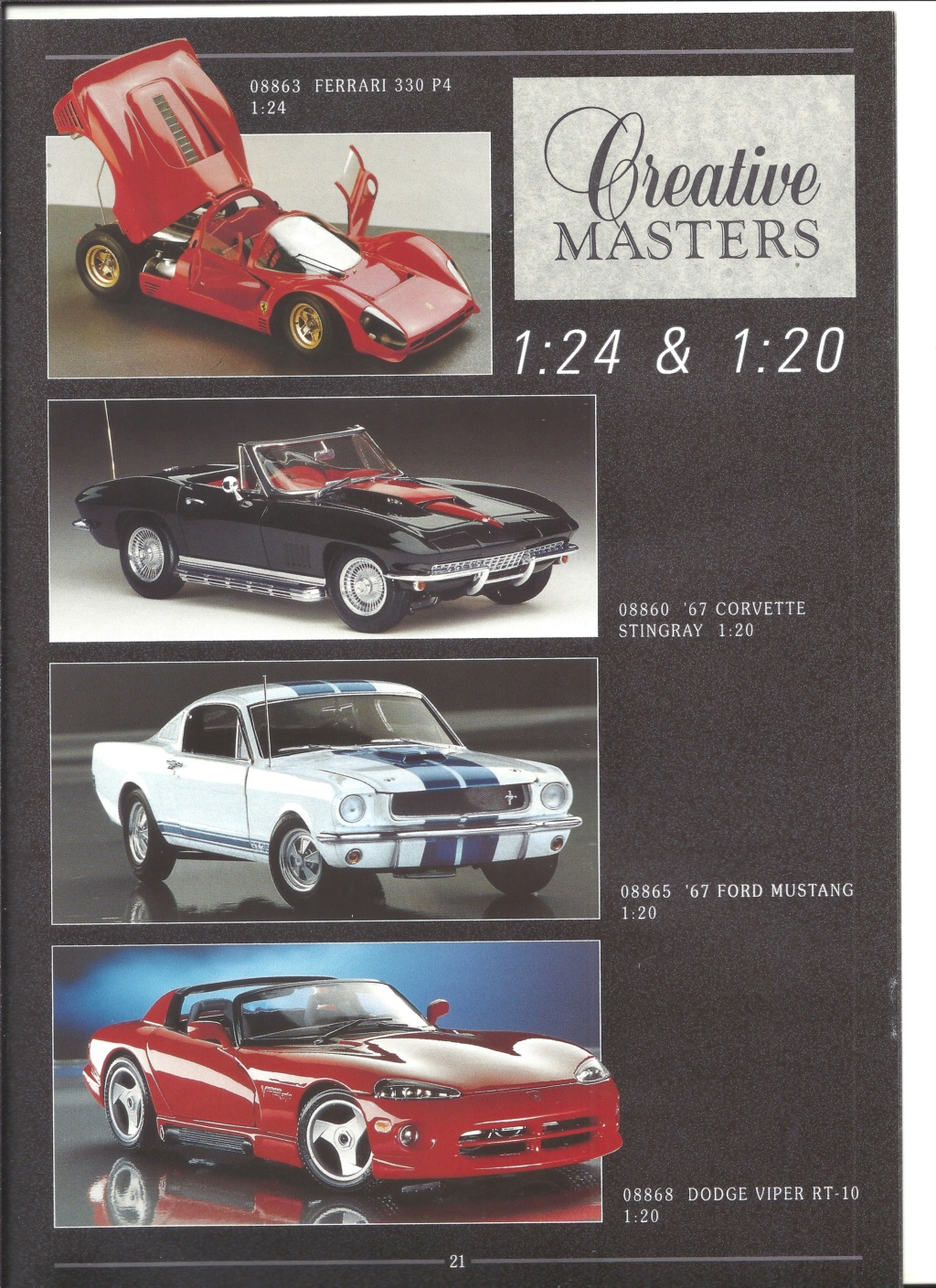[REVELL 1995] Catalogue METAL miniatures 1995  Revell51