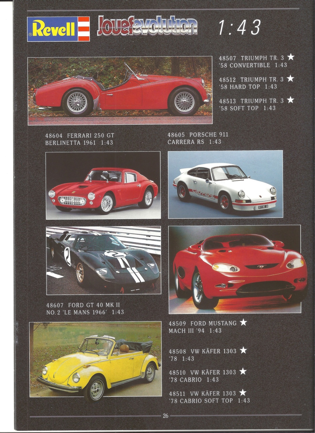 [REVELL 1995] Catalogue METAL miniatures 1995  Revell55
