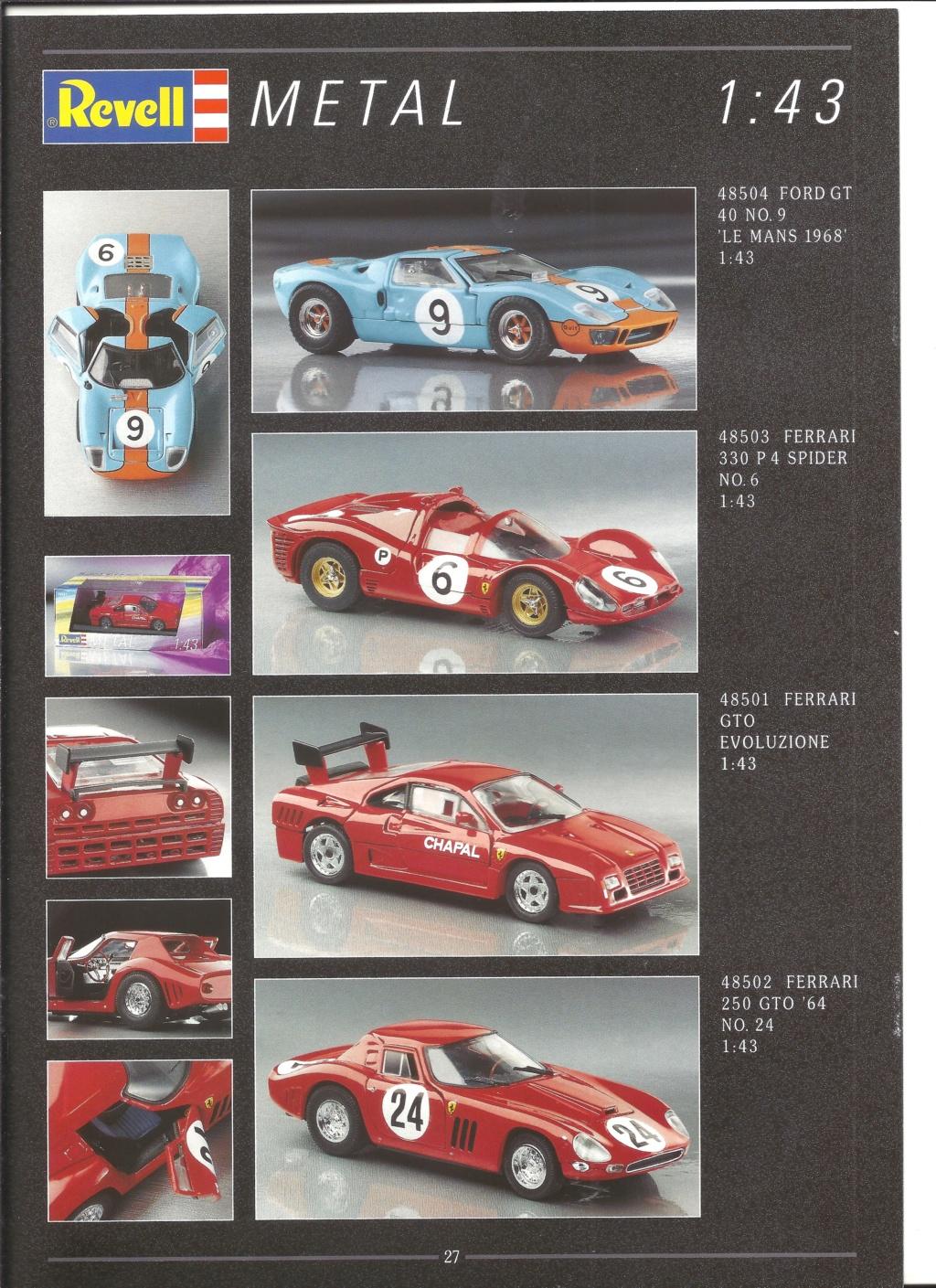 [REVELL 1995] Catalogue METAL miniatures 1995  Revell56