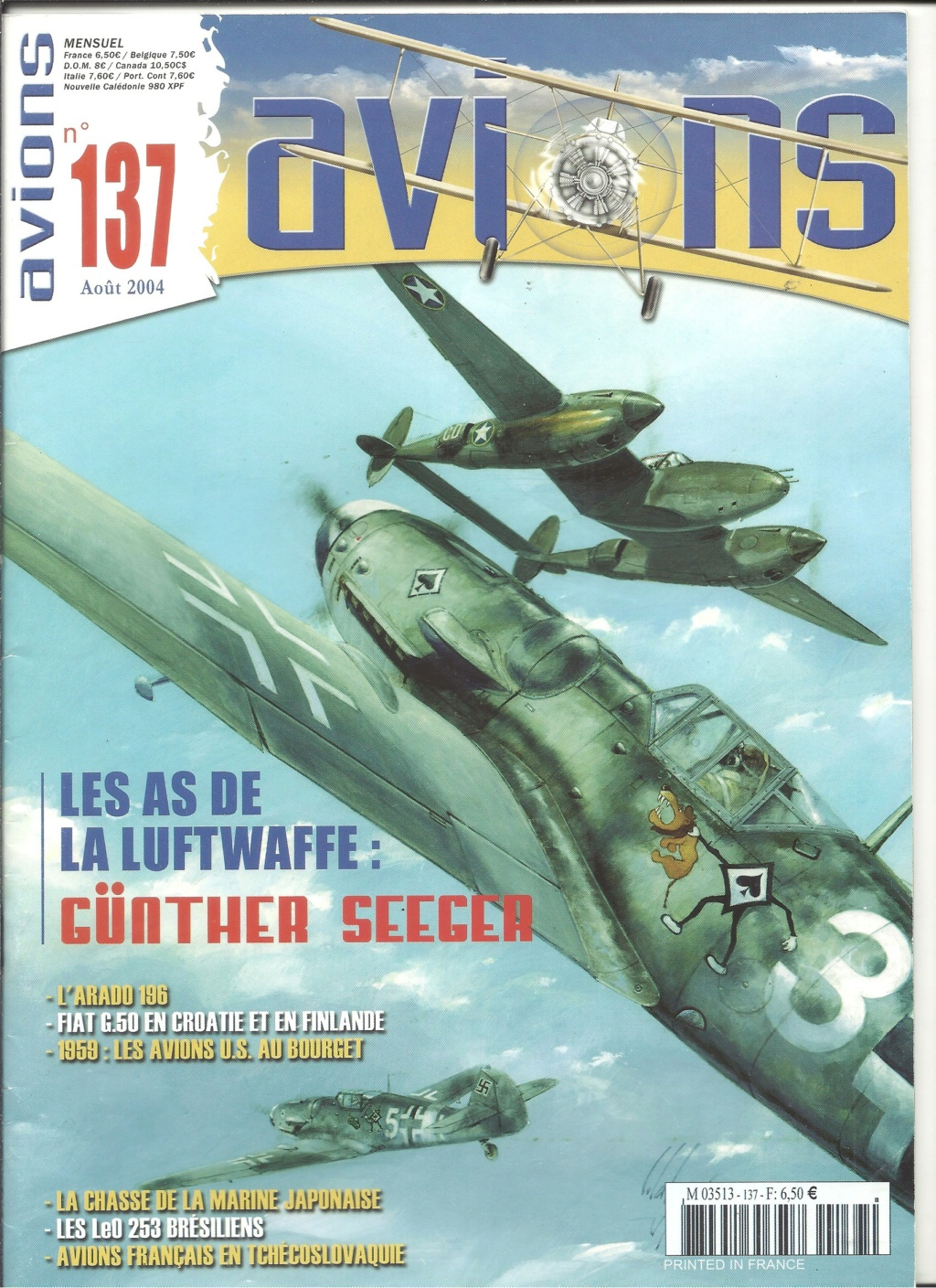 "ARADO Ar 196 A2 ""Aéronavale 1939"" Réf 241 Revue520"
