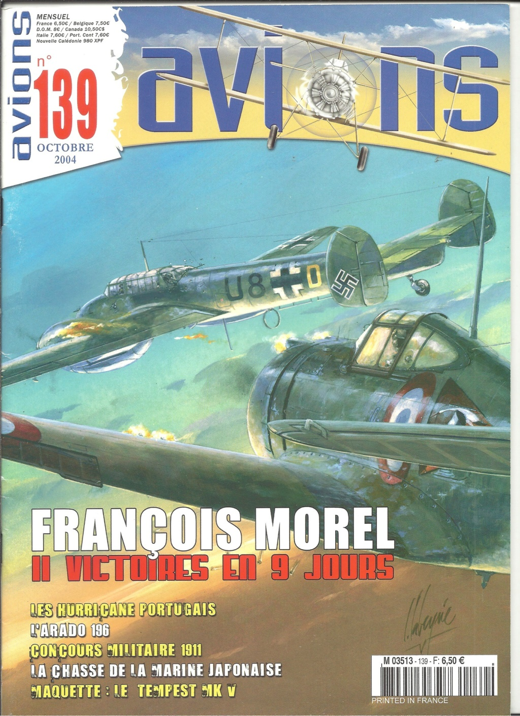 "ARADO Ar 196 A2 ""Aéronavale 1939"" Réf 241 Revue527"