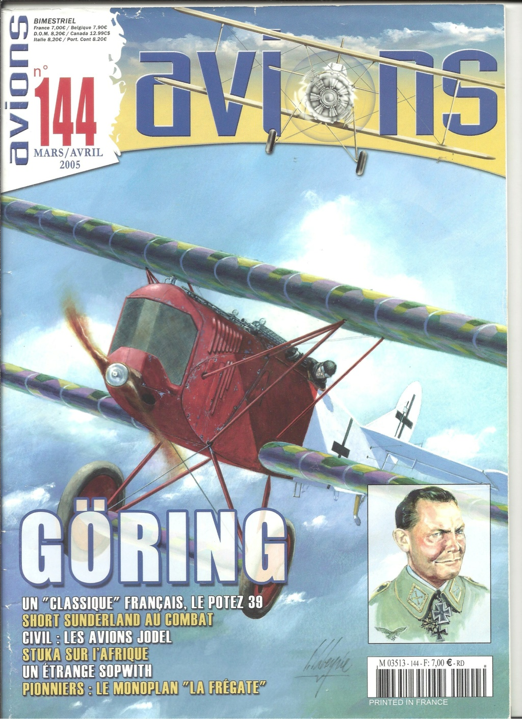 "ARADO Ar 196 A2 ""Aéronavale 1939"" Réf 241 Revue540"